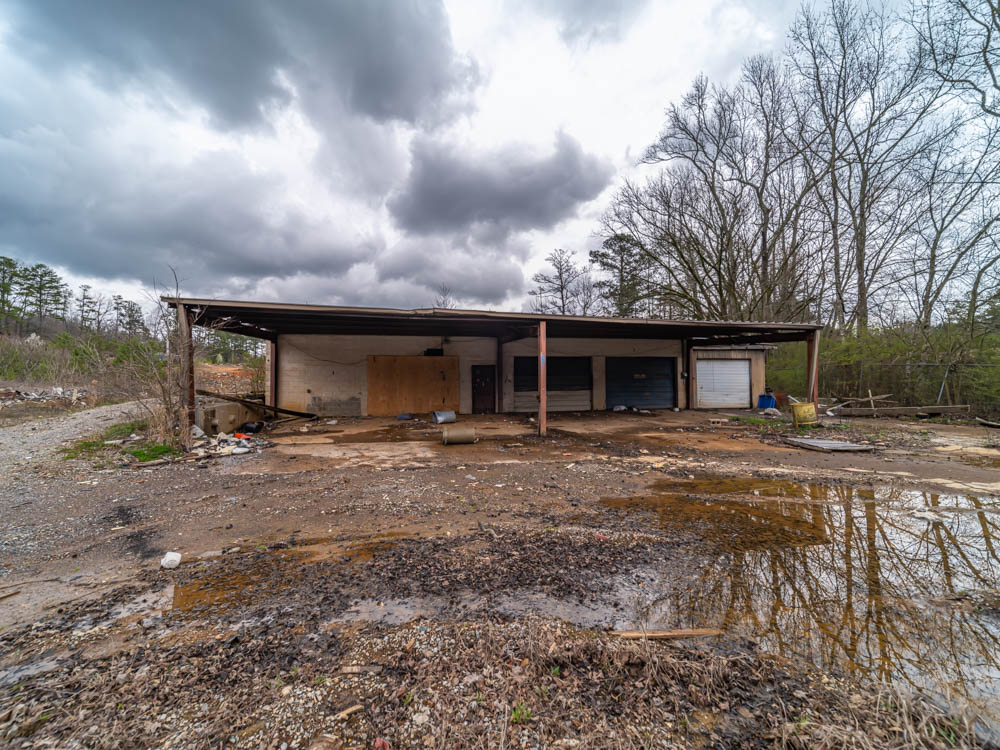 William Terry's old Junkyard in Floyd County, Ga. This place was in business for decades and used to also have a general store along side it run by his mother,
